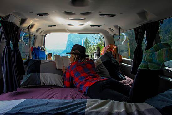 Get A Free Insurance Quote >> Mavericks Campervan Rental from Los Angeles, San Francisco ...